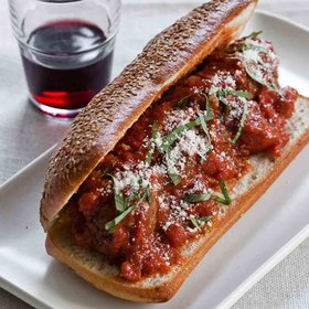 Food & Wine: Slow Cooker Meatballs in Tomato Sauce