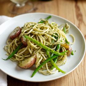 Food & Wine: Trenette with Pesto, Beans and Potatoes