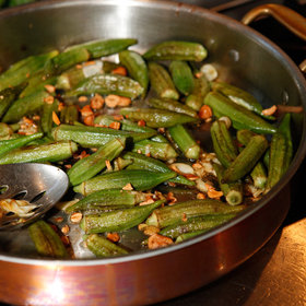 Food & Wine: Sautéed Okra with Cashews
