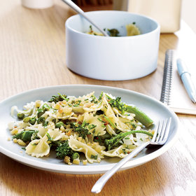 Food & Wine: Farfalle with Spring Vegetables