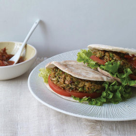 Food & Wine: Brown-Rice Veggie Burgers