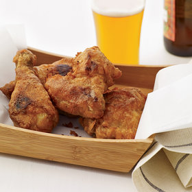 Food & Wine: Beer-Battered Buttermilk Fried Chicken