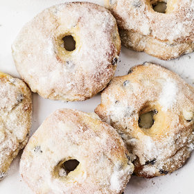 Food & Wine: Baked Currant Doughnuts