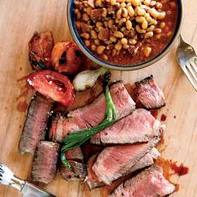 Food & Wine: Grilled Texas Rib Eye