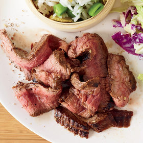 Food & Wine: Grilled Flank Steak with Sichuan Peppercorns