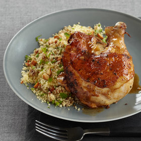 Food & Wine: Moroccan Chicken with Minty Date Couscous