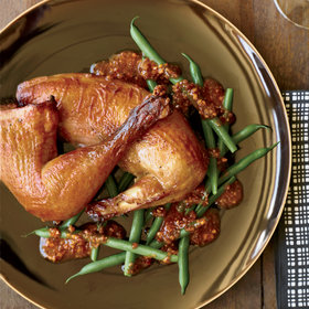 Food & Wine: Tea-Smoked Roast Chickens
