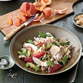 Food & Wine: Winter Chicken Salad with Citrus and Celery