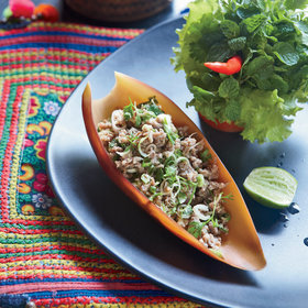 Food & Wine: Ground Turkey Laap