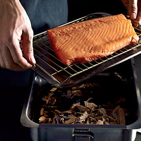 Food & Wine: Smoked and Cured Salmon with Orange Zest