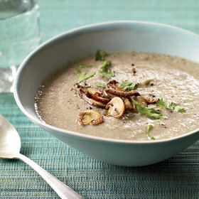 Food & Wine: Two-Mushroom Velouté
