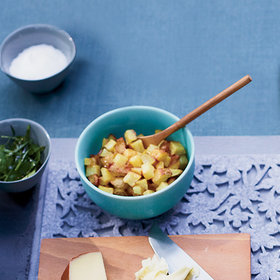 Food & Wine: Pan-Fried Potato Croutons