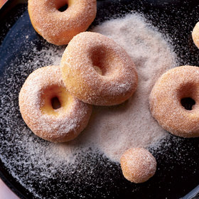 Food & Wine: Sweet Potato Doughnuts