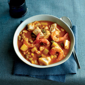 Food & Wine: Southwest Seafood Chowder