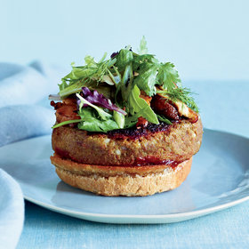 Food & Wine: Veggie Burgers with Pomegranate Ketchup