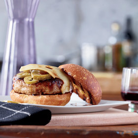 Food & Wine: Barbecue-Glazed Turkey Burgers