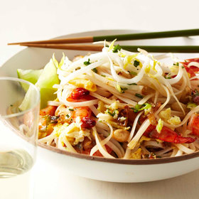 mkgalleryamp; Wine: Quick Shrimp Pad Thai