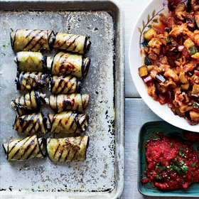 Food & Wine: Eggplant Involtini with Grilled Ratatouille