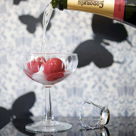 Food & Wine: Black Pepper-Raspberry Sorbet with Prosecco