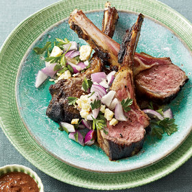 Food & Wine: Rack of Lamb with Pasilla Chiles
