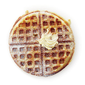 Food & Wine: Yeasty Waffles