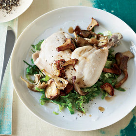 Food & Wine: Pot-Roasted Chicken with Mushrooms