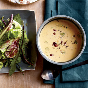 Food & Wine: Beer-and-Cheddar Soup