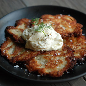 Food & Wine: Killer Potato Latkes