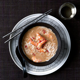 mkgalleryamp; Wine: Thai Shrimp-and-Coconut Soup with Lemongrass
