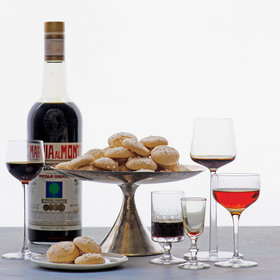 Food & Wine: Amaro-Spiked Amaretti Cookies