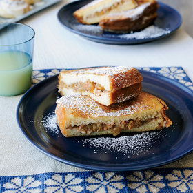 Food & Wine: Brioche French Toast Stuffed with Apple, Raisins and Pecans