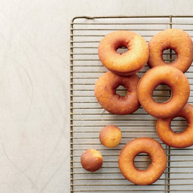 Food & Wine: Vanilla Raised Doughnuts