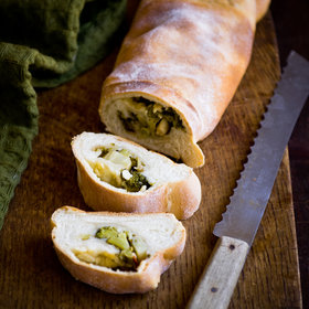 Food & Wine: Broccoli Bread