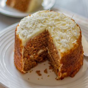 Food & Wine: Coconut Flour Carrot Cake