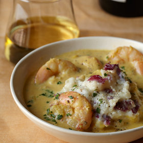 Food & Wine: Corn and Shrimp Chowder with Mashed Potatoes
