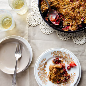 Food & Wine: Cranberry Apple Raisin Crisp