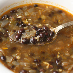 Food & Wine: Easy Black Bean Soup