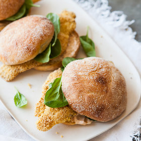Food & Wine: Fried-Catfish Sandwiches with Spicy Mayonnaise