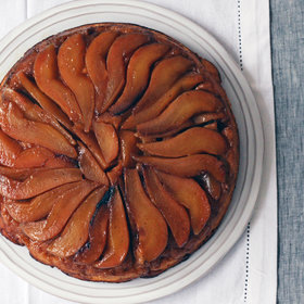 Food & Wine: Ginger and Pear Upside-Down Cake