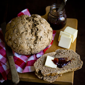 Food & Wine: Rye Berry Bread