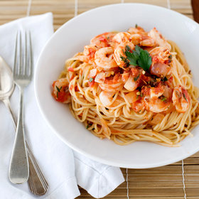 Food & Wine: Shrimp Fra Diavolo with Vermicelli