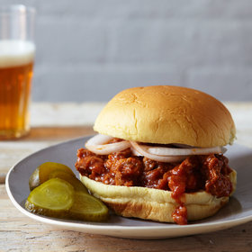 mkgalleryamp; Wine: Spicy Sloppy Joes