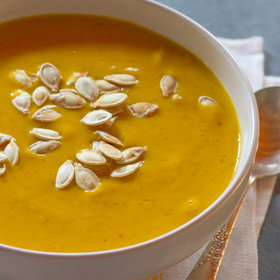 Food & Wine: Creamy Vegan Pumpkin Soup