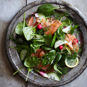 Food & Wine: Salmon Salads