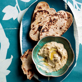 Food & Wine: Hummus with Whole Wheat Flatbreads