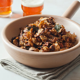 Food & Wine: Asian Snack Mix with Nori