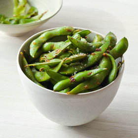 Food & Wine: Chipotle-Garlic Edamame