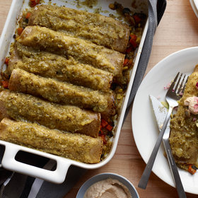 Food & Wine: Vegan Enchiladas