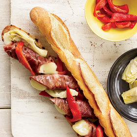 Food & Wine: Double-Grilled Antipasto Sandwiches