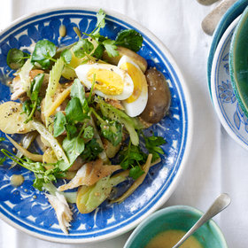 Food & Wine: Smoked Fish Salad with Pickled Beans and Eggs